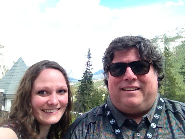 Melissa Henderson and Anthony Towstego at the Banff World Media Festival