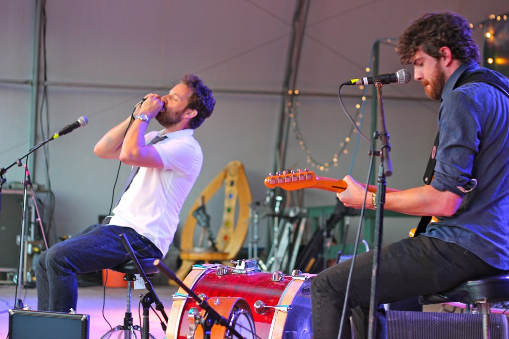 The Harpoonist and the Axe Murderer performing during the 2014 Ness Creek Music Festival (Photo by Daryl Uhrin)