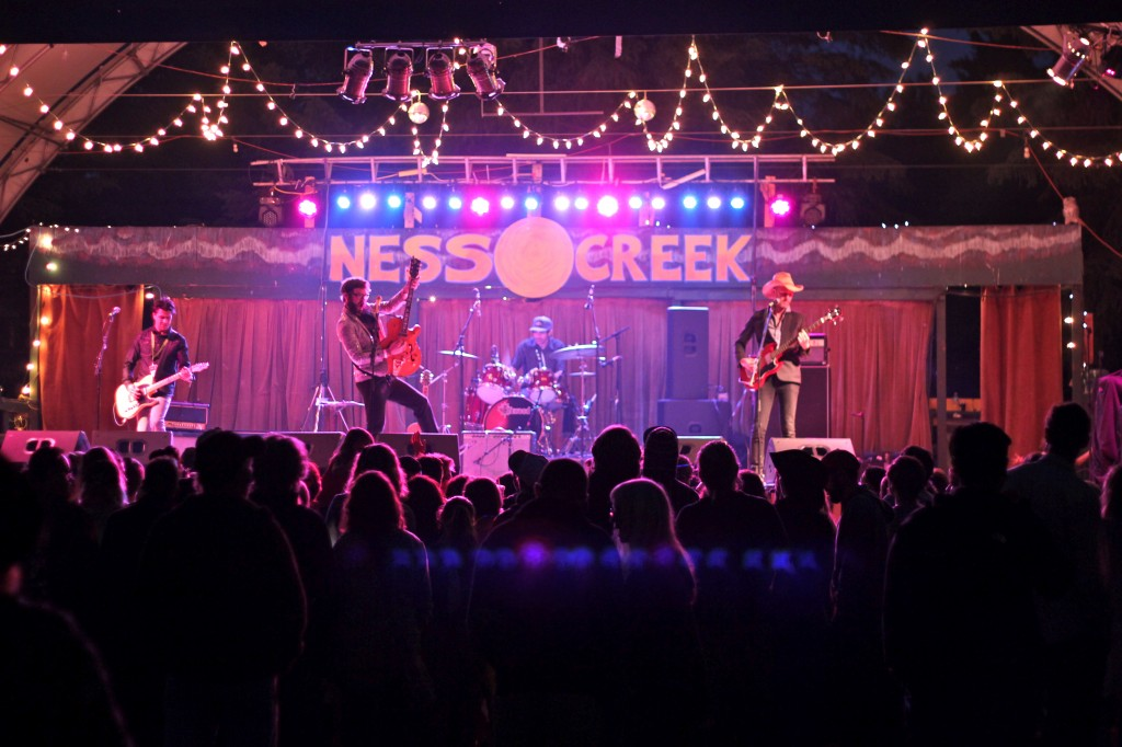 The 2014 Ness Creek Main Stage (Photo by Daryl Uhrin)