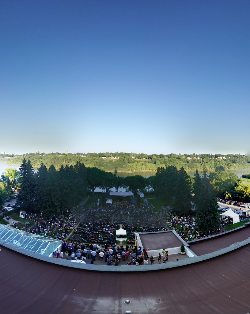 The perfect place for an outdoor concert, The Delta Bessborough Gardens (Photo by Paul Chavady)